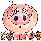 Six Little Pigs by Kerry Cillo