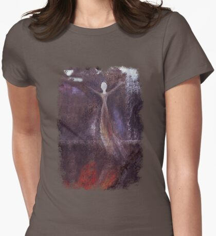 Marguerite Goes To Heaven Womens Fitted T-Shirt