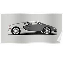 2010 Bugatti Veyron 16.4 Sang d'Argent Poster