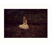 Princess Lonely Art Print