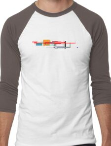 Tech Iron 2 Men's Baseball ¾ T-Shirt