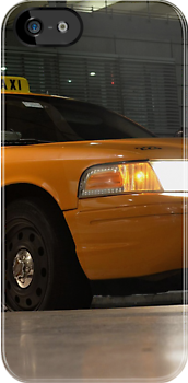 Yellow Cab | iPhone/iPod Case by 242Digital