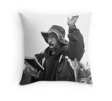 Repent...The End Is Near! Throw Pillow