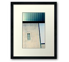 Industrial lines Framed Print