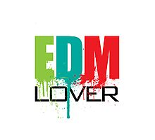 EDM (Electronic Dance Music) Lover Photographic Print