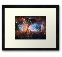 Star-forming Region S106 Framed Print