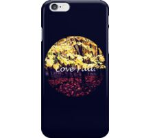 Under The Shade Of Yellow iPhone Case/Skin