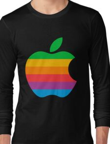 Retro Apple  Long Sleeve T-Shirt