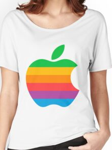 Retro Apple  Women's Relaxed Fit T-Shirt