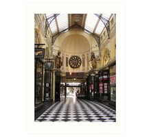 Royal Arcade Art Print