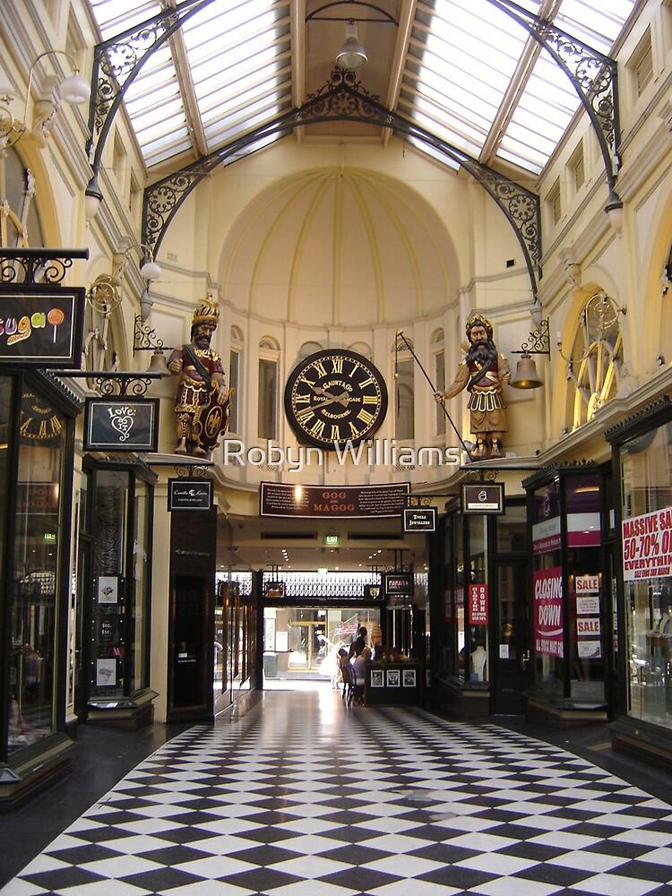 Royal Arcade by Robyn Williams