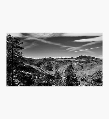 Rockies in the Distance Photographic Print