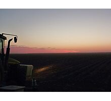 Night Planting Photographic Print