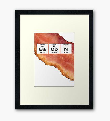 Mmm bacon Framed Print