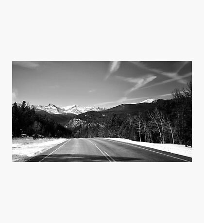 The Road to the Rockies Photographic Print