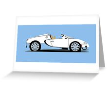 2012 Bugatti Veyron 16.4 Grand Sport Vitesse Special Edition Greeting Card
