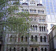 Melbourne Safe Deposit Building by Robyn Williams