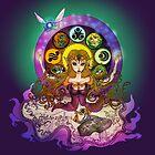 mystic zelda by kipari