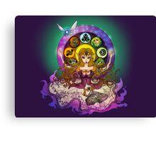 mystic zelda Canvas Print