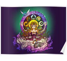 mystic zelda Poster