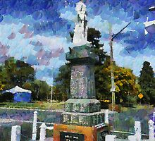 Braidwood  War Memorial by Fran Woods