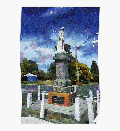 Braidwood  War Memorial Poster