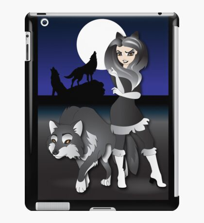 Twisted - Wild Tales: Kenley and the Wolf iPad Case/Skin