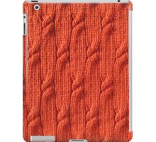 Firefly cable knit iPad Case/Skin