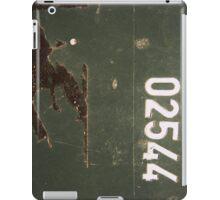 Grungy Numbers ipad case iPad Case/Skin