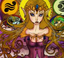 mystic zelda Sticker
