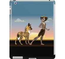 Twisted - Wild Tales: Kacela and the Hunting Dog iPad Case/Skin