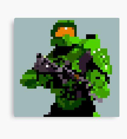 16-bit Spartan Canvas Print