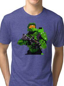 16-bit Spartan Tri-blend T-Shirt