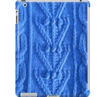 Aran knit iPad Case/Skin