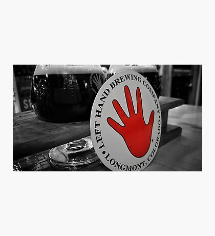 Left Hand Brewing Photographic Print