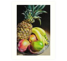 Tropical Bounty Art Print