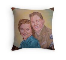 Forever Sweethearts Throw Pillow