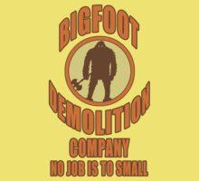 Bigfoot Demolition Company Kids Clothes