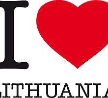 I ♥ LITHUANIA by eyesblau