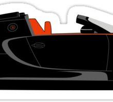 2013 Bugatti Veyron 16.4 Grand Sport Vitesse World Record Car Edition Sticker