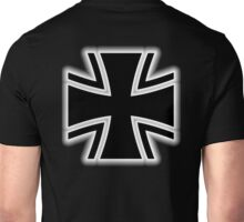 Germany, German, Iron Cross, Federal Defence, Bundeswehr Kreuz, Black Unisex T-Shirt