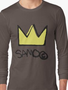 Basquiat SAMO Crown Long Sleeve T-Shirt