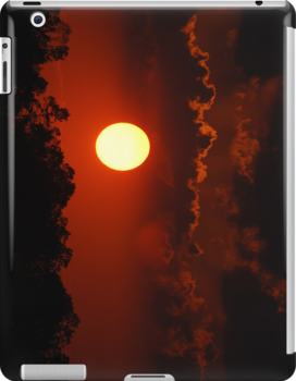 Sunset IPad Case by barnsis