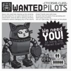 Wanted Pilot -CTYCRSHR-CLASS- Giant Robocat  by Adew