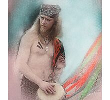 The Drummer Photographic Print