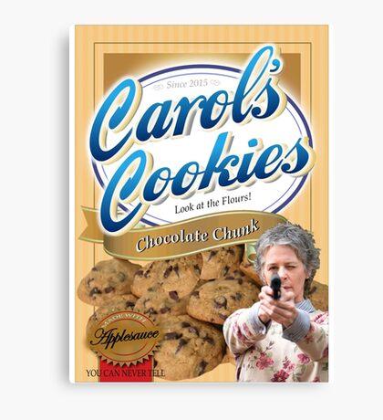 Famous Carol's Cookies Canvas Print