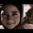 Siblings, Nepal 2009 by LeighBlake