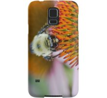 Bee on an Echinacea Flower Samsung Galaxy Case/Skin