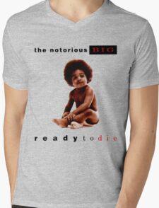 Ready To Die Mens V-Neck T-Shirt