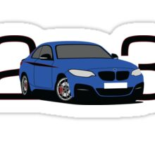 BMW M235i Sticker